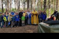 Уроки туризма и литургия в лесу: в «Орловском полесье» проходит слет  «Братства православных следопытов» «Феодоровский городок — 2019»