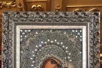 В праздник Балыкинской иконы Божией Матери митрополит Орловский и Болховский Тихон в сослужении схиархимандрита Илия (Ноздрина) совершил Божественную литургию в Свято-Введенском монастыре города Орла. 13 июля 2019 г.