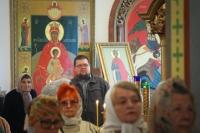 В Неделю 4-ю по Пятидесятнице митрополит Орловский и Болховский Тихон совершил Божественную литургию в Троице-Васильевском храме Орла. 14 июля 2019 г.