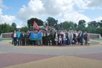 Орловские пограничники молились о погибших в 1993 году героях 12-й заставы Московского погранотряда. 13 июля 2019 г.