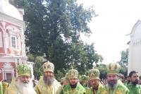 Митрополит Орловский и Болховский Тихон принял участие в торжествах в Троице-Сергиевой Лавре в день памяти преподобного Сергия Радонежского. 18 июля 2019 г.