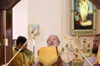 Георгиевский храм г. Ливны стал центом торжеств в честь 5-летия образования Орловской митрополии и Ливенской епархии. 25 июля 2019 г.