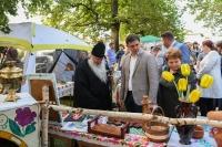 Митрополит Орловский и Болховский Тихон принял участие в праздновании 91-й годовщины образования Урицкого района. 6 июля 2019 г.