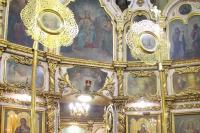 В праздник рождества Крестителя Господня Иоанна митрополит Орловский и Болховский Тихон совершил литургию в Свято-Иоанно-Крестительском храме Орла. 7 июля 2019 г.