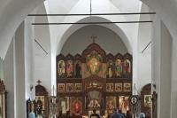 Митрополит Орловский и Болховский Тихон совершил всенощное бдение в храме с. Спасское (Салтыки). 3 августа 2019 г.