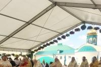 В день памяти свт. Тихона Задонского митрополит Орловский и Болховский Тихон участвовал в церковных торжествах в Рождество-Богородицком мужском монастыре города Задонска. 25-26 августа 2019 г.