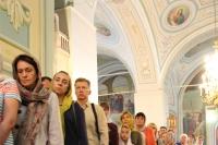 В канун праздника Успения Пресвятой Богородицы  митрополит Орловский и Болховский Тихон совершил всенощное бдение в Успенском (Михаило-Архангельском) соборе города Орла. 27 августа 2019 г.