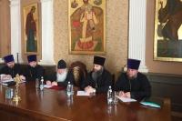 Состоялось заседание Епархиального совета Орловской епархии. 30 августа 2019 г.
