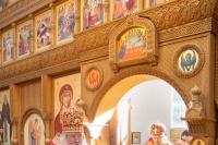 В день памяти прп. Кукши Печерского митрополит Орловский и Болховский Тихон в сослужении епископа Великоустюжского и Тотемского Алексия совершил литургию в монастыре святого Кукши Мценского района. 9 сентября 2019 г.