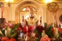 В Ливенской епархии молитвенно отметили пятую годовщину архиерейской хиротонии епископа Нектария. 9 сентября 2019 г.
