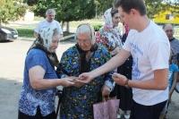 Участники движения «Неувядаемый цвет» посетили с миссионерской поездкой поселения Мценского района