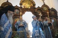 Первое богослужение архиепископа Орловского и Ливенского Антония в Орле. 25-26 октября 2011 г.