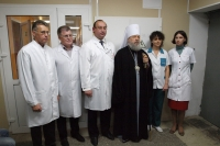 Митрополит Орловский и Болховский Антоний посетил Детскую областную клиническую больницу. 25 сентября 2014 г.