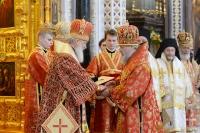 Архиепископ Антоний награжден орденом преподобного Серафима Саровского I степени. 24 мая 2014 г.