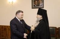 Прибытие Высокопреосвященнейшего архиепископа Антония в Орловско-Ливенскую епархию. 24 октября 2011 г.