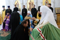 Состоялось наречение архимандрита Нектария (Селезнева) во епископа Ливенского и Малоархангельского. 15 августа 2014 г.