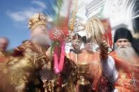 Во вторник Светлой Седмицы архиепископ Орловский и Ливенский Антоний совершил Божественную литургию в храме Иверской иконы Божией Матери г. Орла. 7 мая 2013 г.