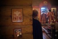 В праздник Собора новомучеников и исповедников Российских архиепископ Антоний совершил Божественную литургию в скиту Новомучеников и исповедников Российских г. Орла. 10 февраля 2013 г.