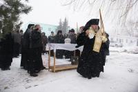 В 5-ю годовщину со дня кончины приснопамятного архиепископа Паисия архиепископ Орловский и Ливенский Антоний совершил панихиду у его гробницы. 20 марта 2013 г.