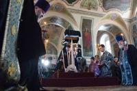 В четверг 1-й седмицы Великого поста архиепископ Орловский и Ливенский Антоний совершил повечерие с чтением Великого канона прп. Андрея Критского в Ахтырском кафедральном соборе. 21 марта 2013 г.