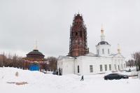 В неделю 2-ю Великого поста архиепископ Орловский и Ливенский Антоний совершил литургию в Богоявленском соборе г. Орла. 31 марта 2013 г.