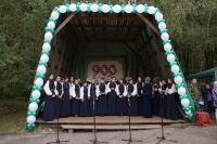 В монастыре святого Кукши совершена Божественная литургия — центральное событие торжеств в честь 900-летия крещения Орловщины. 9 сентября 2013 г.
