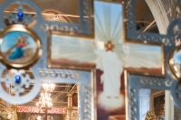 Архиепископ Орловский и Ливенский Антоний совершил утреню Великой субботы с чином погребения в Ахтырском кафедральном соборе. 3 мая 2013 г.