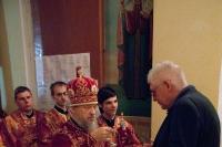 В праздник Светлого Христова Воскресения архиепископ Антоний совершил пасхальное богослужение в Ахтырском кафедральном соборе. 5 мая 2013 г.