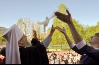 В день памяти великомученика и Победоносца Георгия митрополит Орловский и Болховский Антоний и епископ Ливенский и Малоархангельский Нектарий совершили литургию в Георгиевском храме г. Ливны. 6 мая 2015 г.