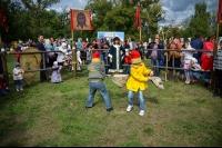 На территории Богоявленского собора Орла впервые прошел городской праздник православной семьи «Взгляни на мир глазами любви». 13 сентября 2015 г.