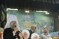Рождественский праздник, подготовленный учащимися и преподавателями орловской Православной гимназии во имя священномученика Иоанна Кукши, состоялся в зале школы искусств имени Кабалевского. 11 января 2015 г.