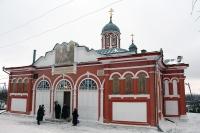 Митрополит Орловский и Болховский Антоний совершил Божественную литургию в Христорождественском храме г. Болхова. 10 января 2015 г.