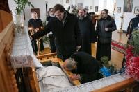 Глава Орловской посетил Спасо-Преображенский собор Болхова, где поклонился мощам священноисповедника Георгия Коссов. 10 января 2015 г.