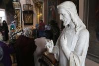 14-16 апреля, в понедельник, вторник и среду Страстной Седмицы, архиепископ Орловский и Ливенский Антоний совершил богослужения первой половины Страстной Седмицы. 16 апреля 2014 г.