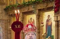Во вторник Светлой Седмицы, день 25-летия своей архиерейской хиротонии, архиепископ Орловский и Ливенский Антоний совершил литургию в храме Иверской иконы Божией Матери. 22 апреля 2014 г.