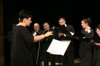На сцене театра «Свободное пространство» открылся III Областной Пасхальный фестиваль. 24 апреля 2014 г.