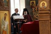 Полномочный представитель Президента в Центральном федеральном округе Александр Беглов посетил Свято-Успенский монастырь г. Орла. 5 августа 2013 г.