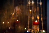 В среду 5-й седмицы Великого поста митрополит Орловский и Болховский Антоний возглавил утреню с чтением Великого канона Андрея Критского и жития прп. Марии Египетской («Мариино стояние») в Ахтырском кафедральном соборе г. Орла. 25 марта 2015 г.