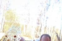 Митрополит Орловский и Болховский Антоний совершил чин великого освящения Воскресенского храма мужского монастыря святого Кукши Мценского района и Божественную литургию в новоосвященном храме. 19 апреля 2015 г.