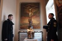 Архиепископ Орловский и Ливенский Антоний освятил восстановленный мемориал генерала Алексея Петровича Ермолова. 17 января 2014 г.