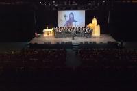 Праздничный концерт в концертном зале «Гринн-Центра» в честь 900-летия крещения Орловщины и Центральной части России. 9 сентября 2013 г.