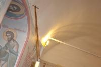 Архиепископ Орловский и Ливенский Антоний совершил чин великого освящения храма Святой Живоначальной Троицы в городе Болхове и Божественную литургию в новоосвященном храме. 1 ноября 2013 г.