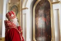 В день престольного праздника храма святого Архистратига Божия Михаила в с. Сабурово Орловского района архиепископ Орловский и Ливенский Антоний совершил здесь Божественную литургию. 21 ноября 2013 г.