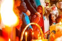 Митрополит Орловский и Болховский Антоний совершил богослужения Великого Четверга, Великой Пятницы и Великой Субботы в Ахтырском кафедральном соборе Орла. 13-15 апреля 2017 г.