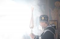 Митрополит Орловский и Болховский Антоний совершил в Свято-Успенском монастыре г. Орла первую в Великом посту Литургию Преждеосвященных Даров. 1 марта 2017 г.
