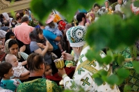 В праздник Святой Троицы (Пятидесятницы) митрополит Орловский и Болховский Антоний совершил Литургию в Ахтырском кафедральном соборе Орла. 19 июня 2016 г.