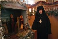 Архиерейское служение в праздник Собора Пресвятой Богородицы в Свято-Введенском женском монастыре. 8 января 2013 г.
