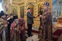 11 марта, в Неделю 2-ю Великого поста, архиепископ Антоний совершил Божественную литургию в Богоявленском соборе Орла, а после поздравил схиархимандрита Илия (Ноздрина) с 80-летием