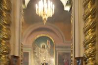 В Прощеное воскресенье архиепископ Антоний совершил Вечерню с чином прощения в Ахтырском кафедральном соборе. 26 февраля 2012 г.