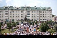Торжественное открытие памятника герою Отечественной войны 1812 года генералу Алексею Петровичу Ермолову в Орле. 27 июля 2012 г.